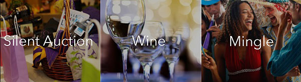 Silent Auction, Wine, and Mingle!