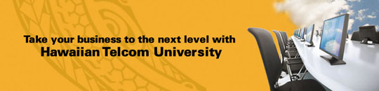 Hawaiian Telcom University Header