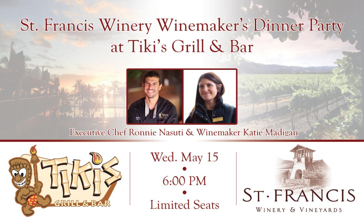 St. Francis Wine Dinner