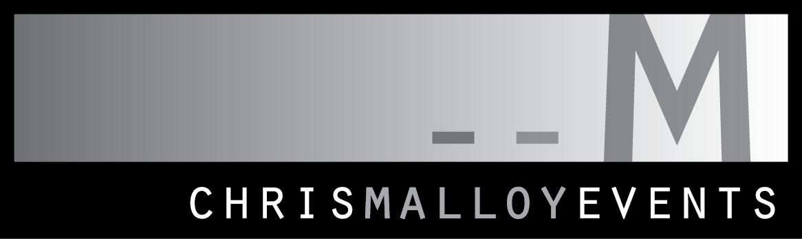 chris malloy events logo