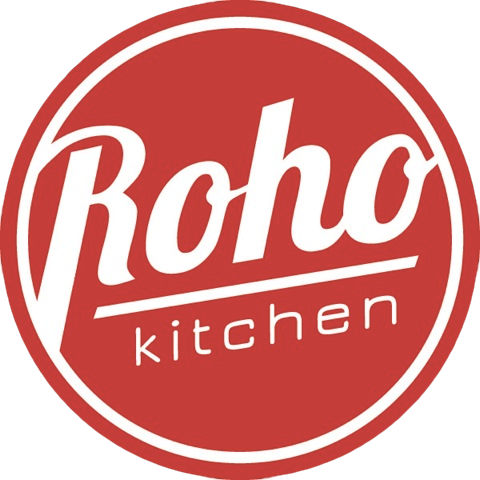 Roho Kitchen Logo with Tag-line