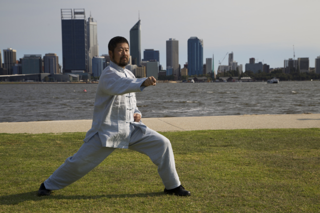 Master Chen south perth foreshore 2013