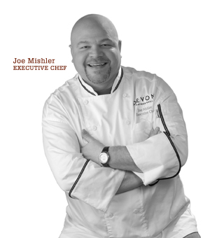 Joe Mishler, Executive Chef at Devon Seafood Grill in Hershey