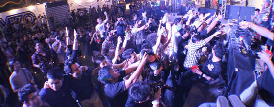 Tour 2011-12 Crowd