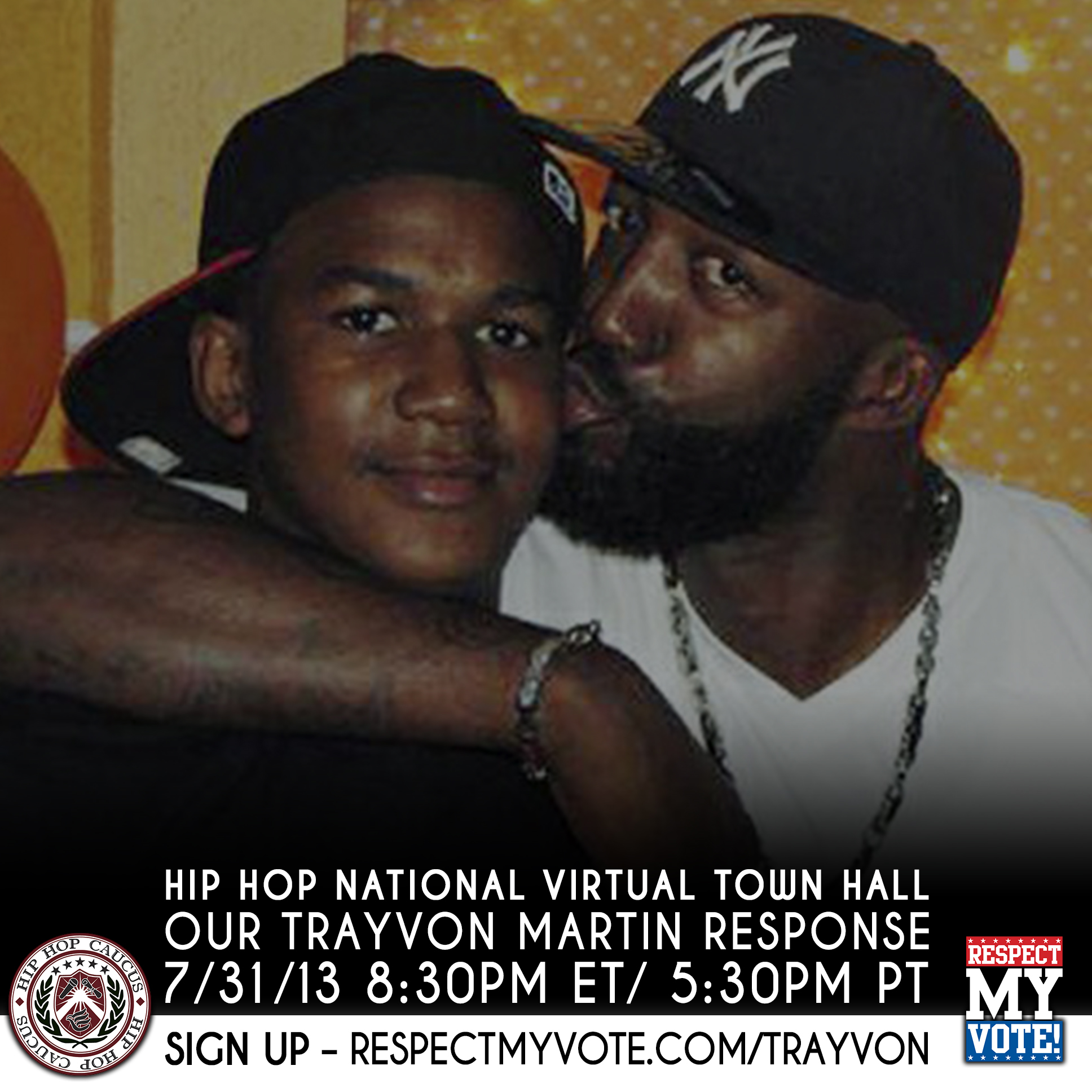 Hip Hop National Virtual Town Hall: Our Trayvon Martin Response