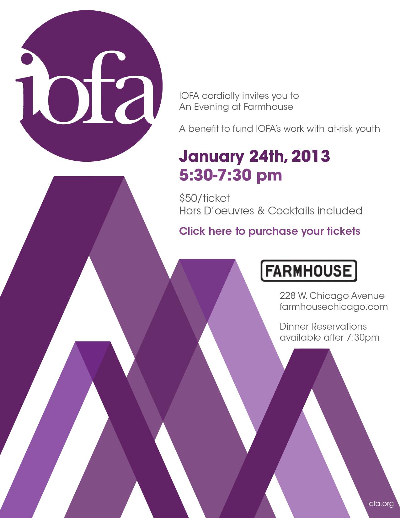 IOFA Evening at Farmhouse