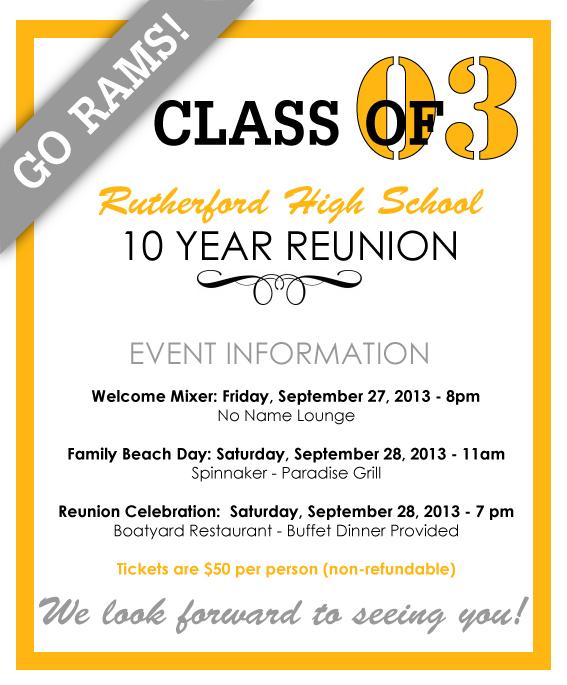 Class Reunion Invitation Templates Free is amazing invitations layout