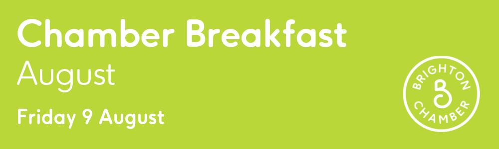 Chamber breakfast august