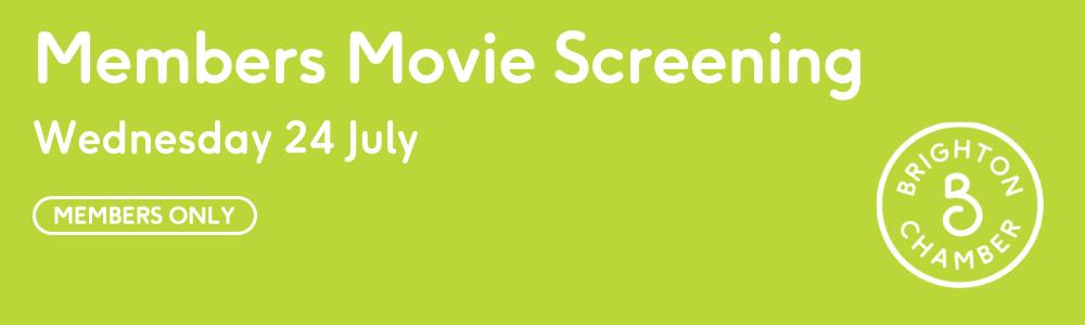 Member Movie Screening
