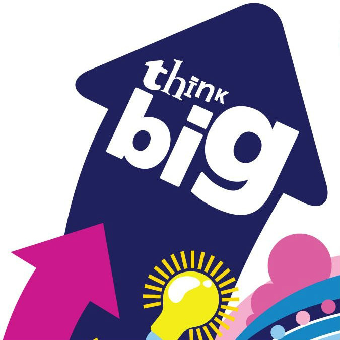 O2 Think Big Logo