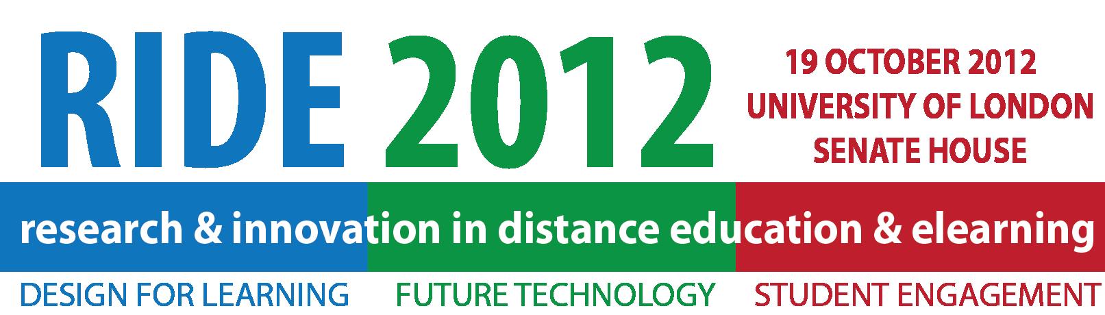 RIDE2012 logo