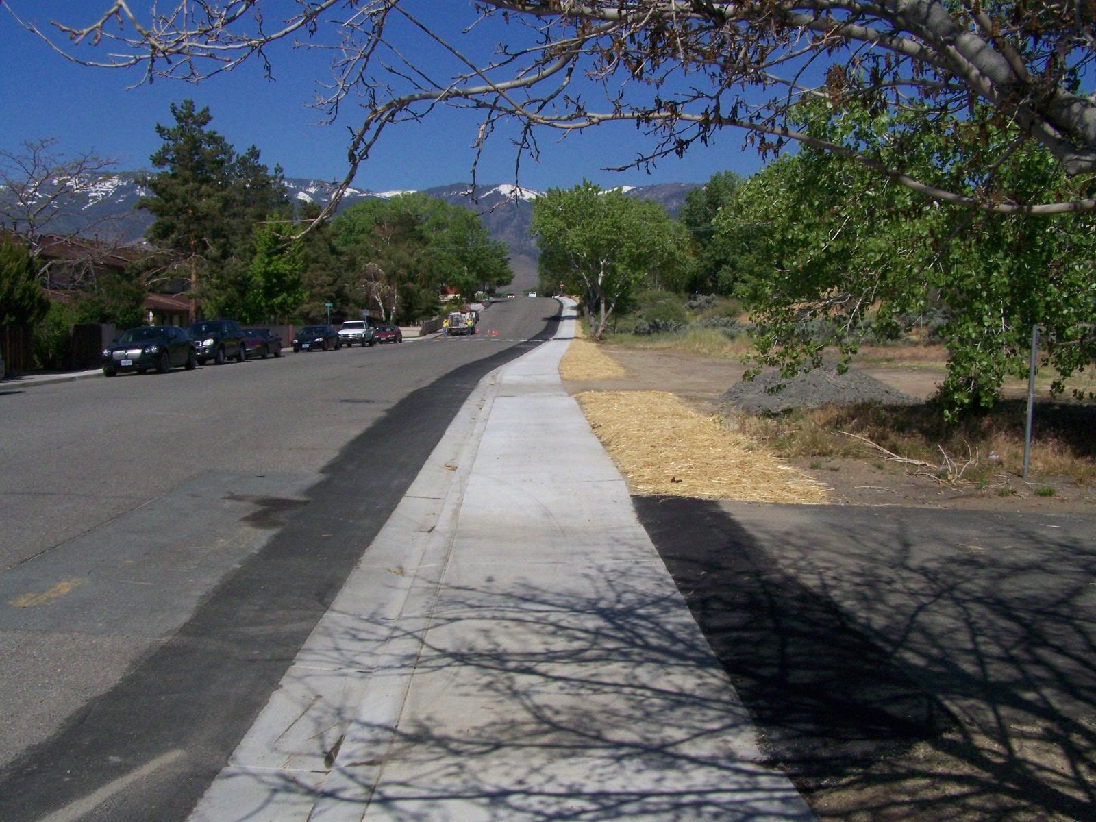 Carson City Sidewalk