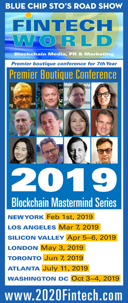 LONDON BLOCKCHAIN DIGITAL MONEY 2019 FINTECH WORLD WORKSHOP SERIES