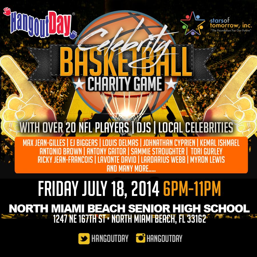 Hangout Day Celebrity Charity Basketball Game