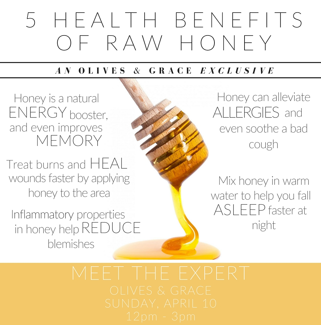 5 Health Benefits Of Raw Honey