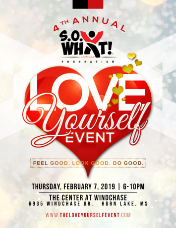 4th Annual Love Yourself Event flier