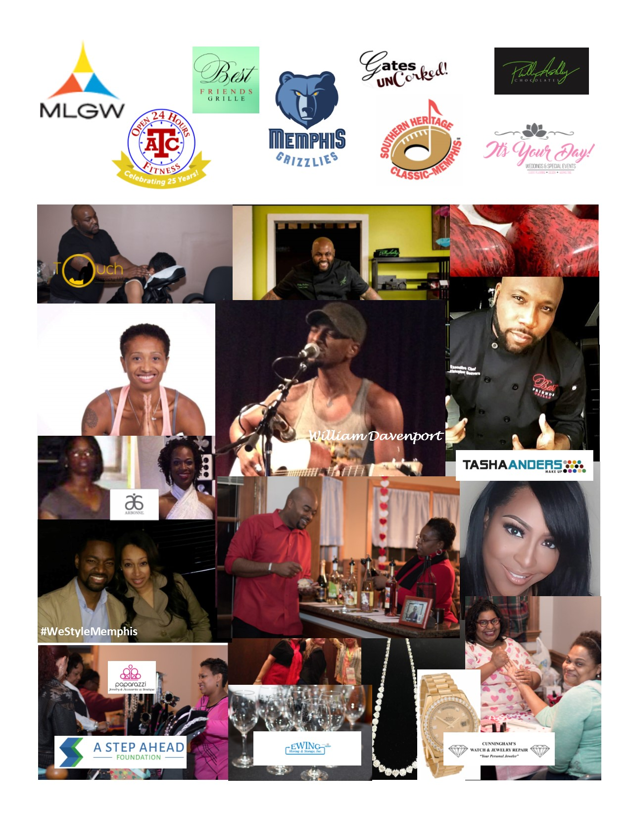 Love Yourself event sponsors and contributors