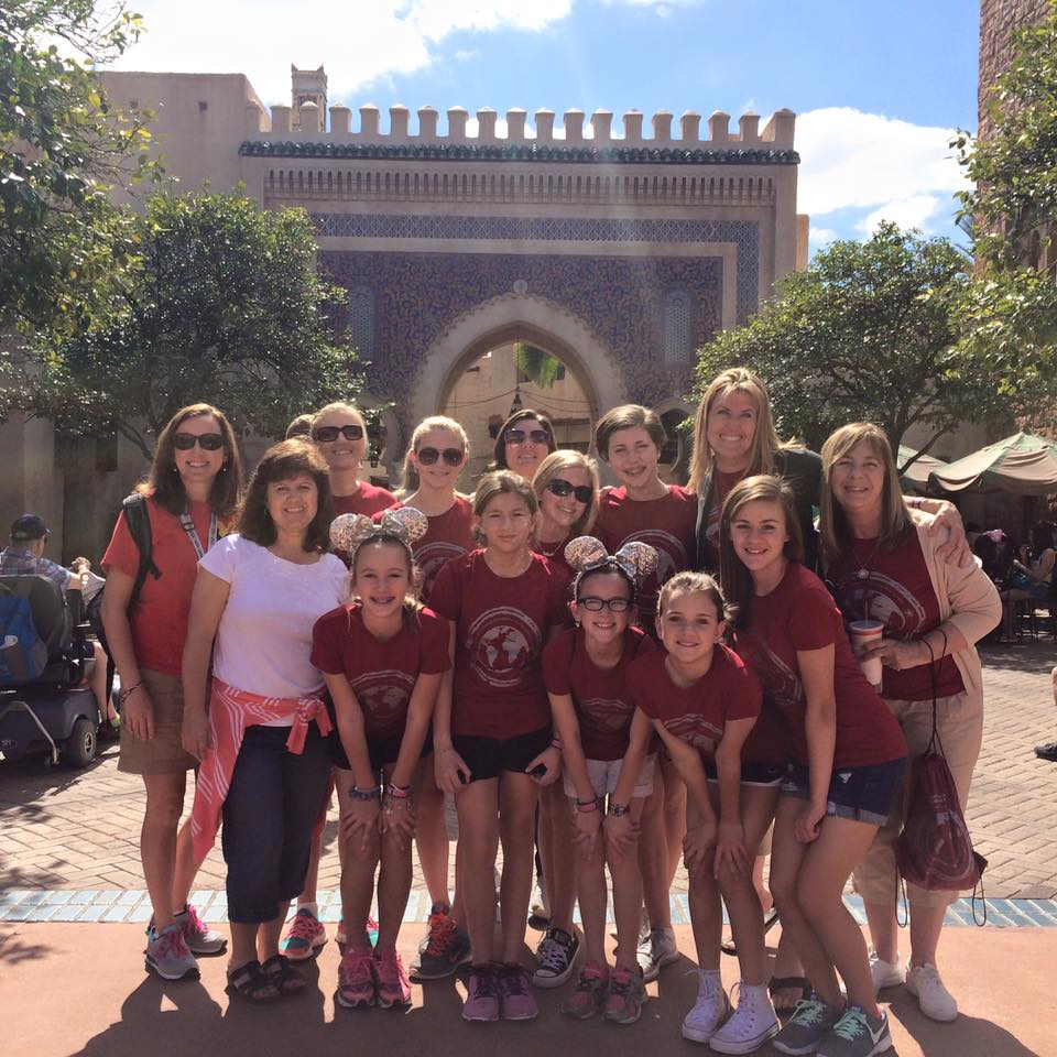 Daring Daughters at EPCOT