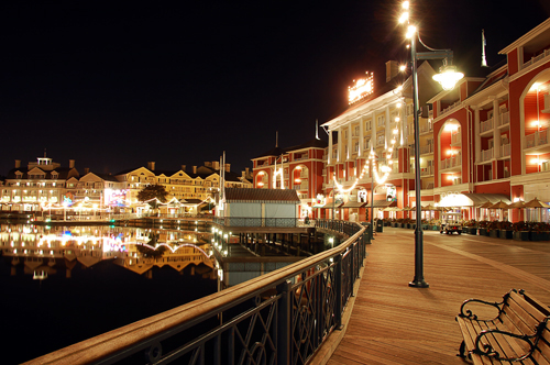 The Boardwalk - at Disneyworld (in the Marvin Garden Rooms)