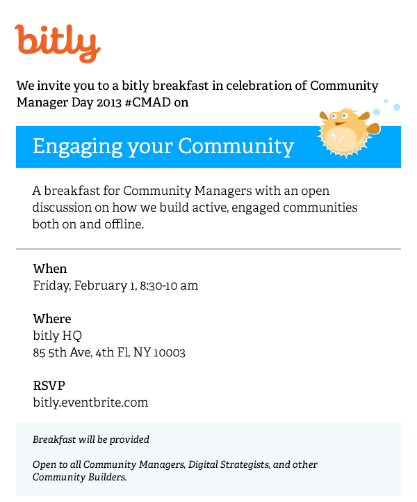 bitly invitation
