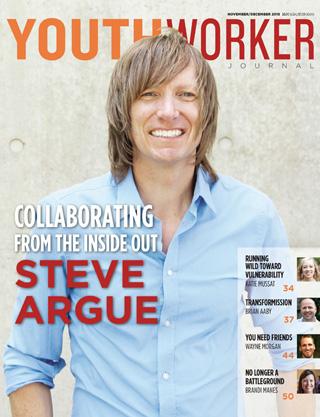 Steve Argue Youthworker Magazine