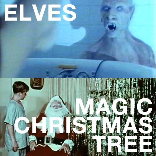 Elves, Magic Christmas Tree