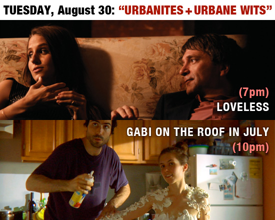 Loveless, Gabi on the Roof in July