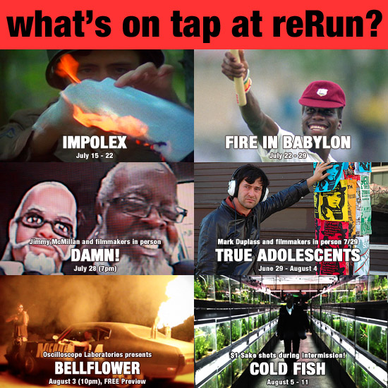 What's on Tap at reRun?
