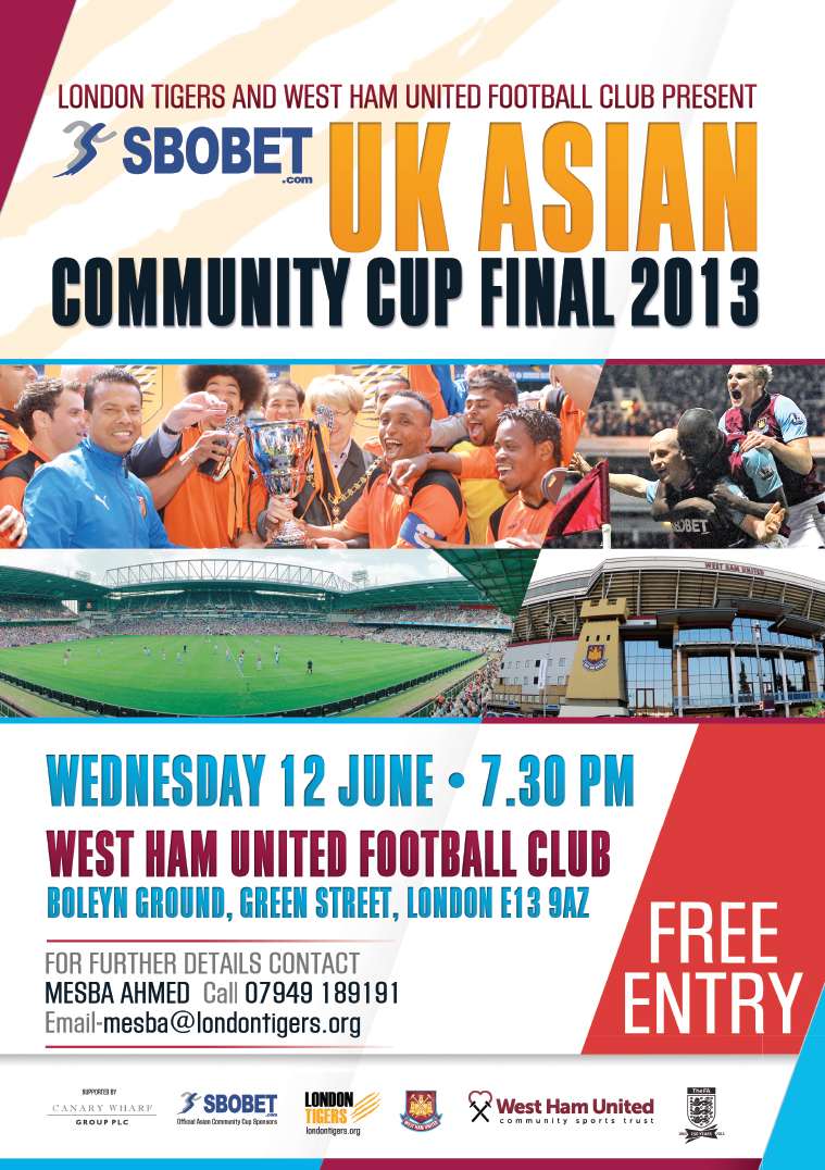 UK Asian Community Cup Final 2013
