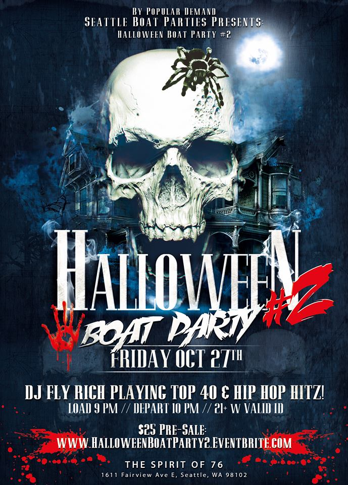 Halloween Boat Party #2 Tickets, Fri, Oct 27, 2017 at 9:00 PM ...