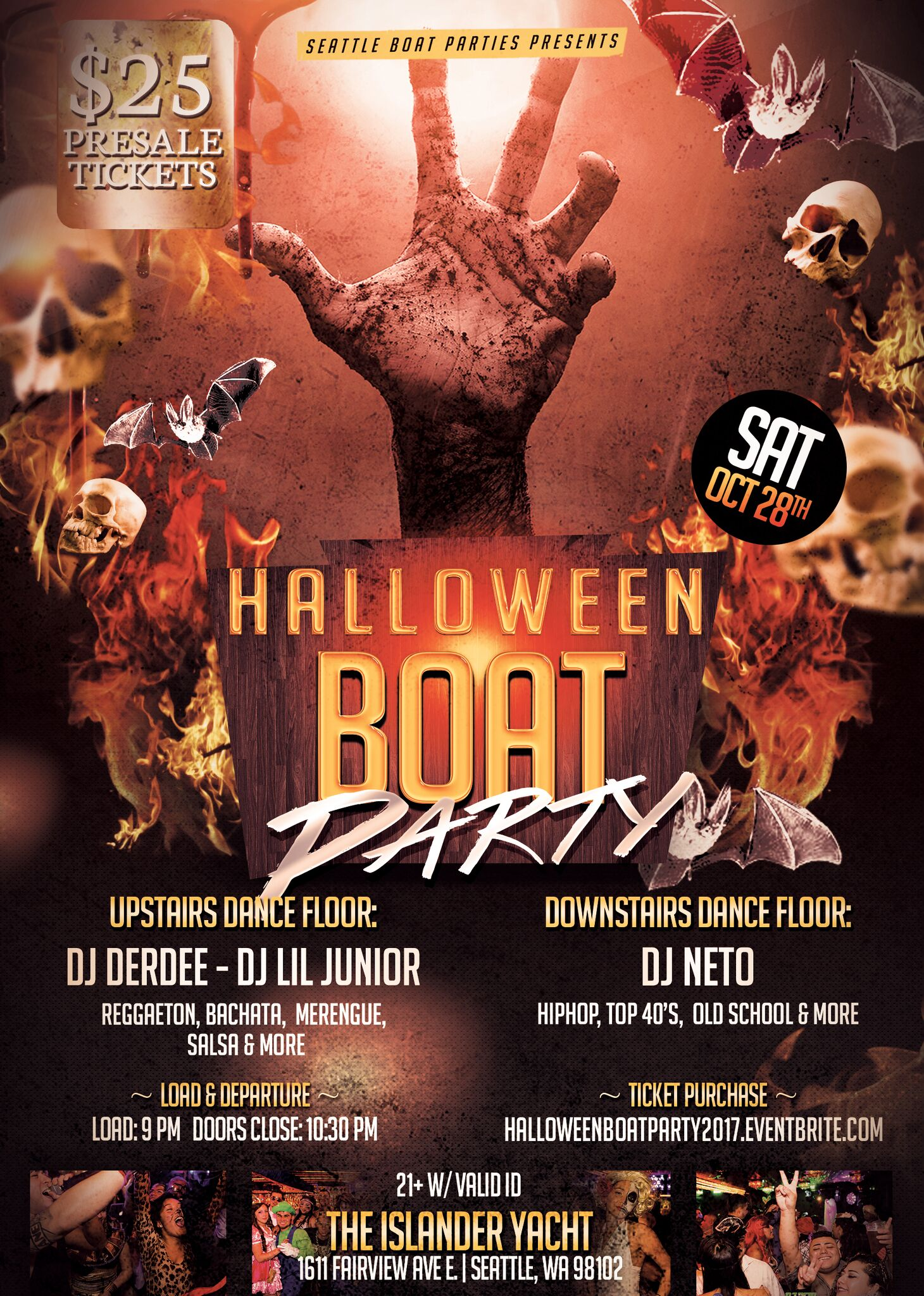 HALLOWEEN BOAT PARTY 2017 Tickets, Sat, Oct 28, 2017 at 9:00 PM ...