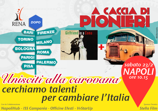 Poster Pionieni Napoli by killermedia