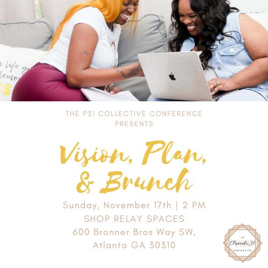 Vision Plan & Brunch flyer