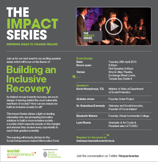 The Impact Series Building an inclusive Recovery