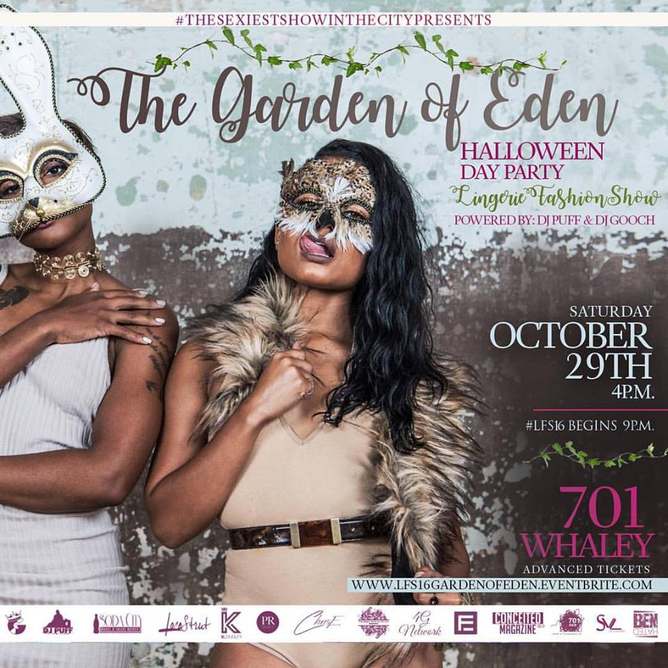 The Garden of Eden Halloween Day Party & Lingerie Fashion Show ...