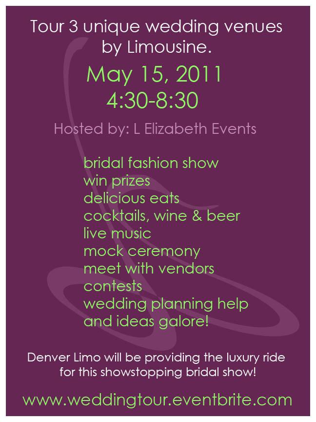 Wedding Tour Flyer