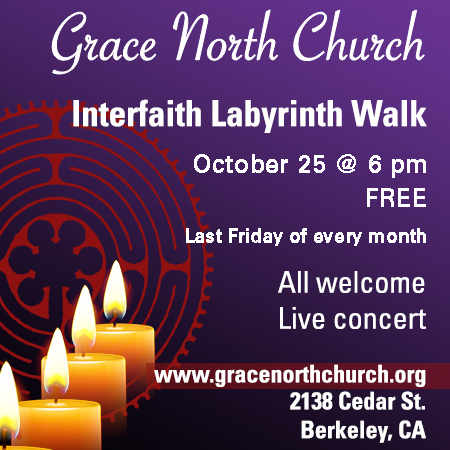 Labyrinth Walk with Live Music Oct 25