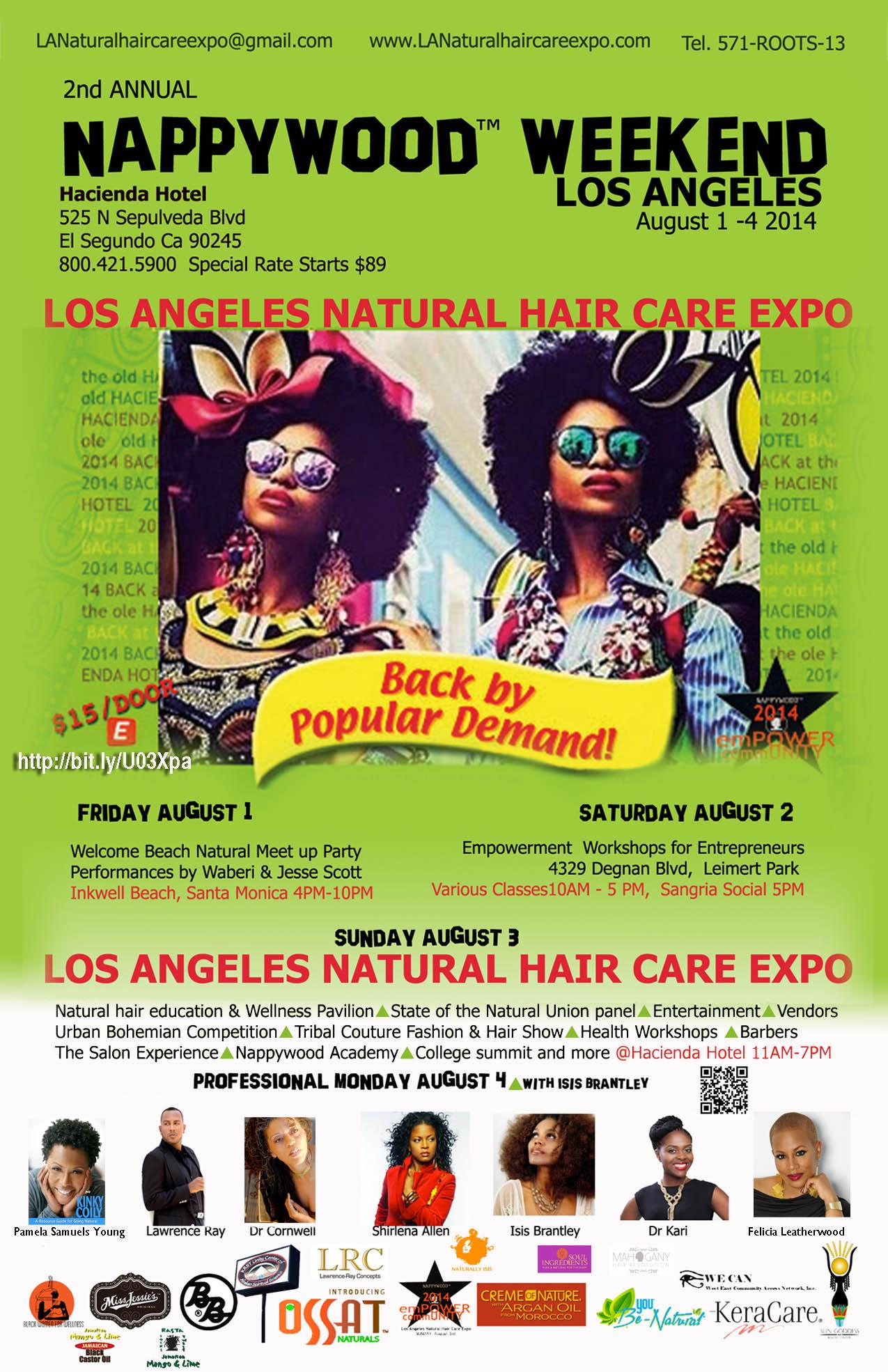 Natural Hair Care Expo California