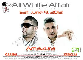 ALL WHITE AFFAIR 2012