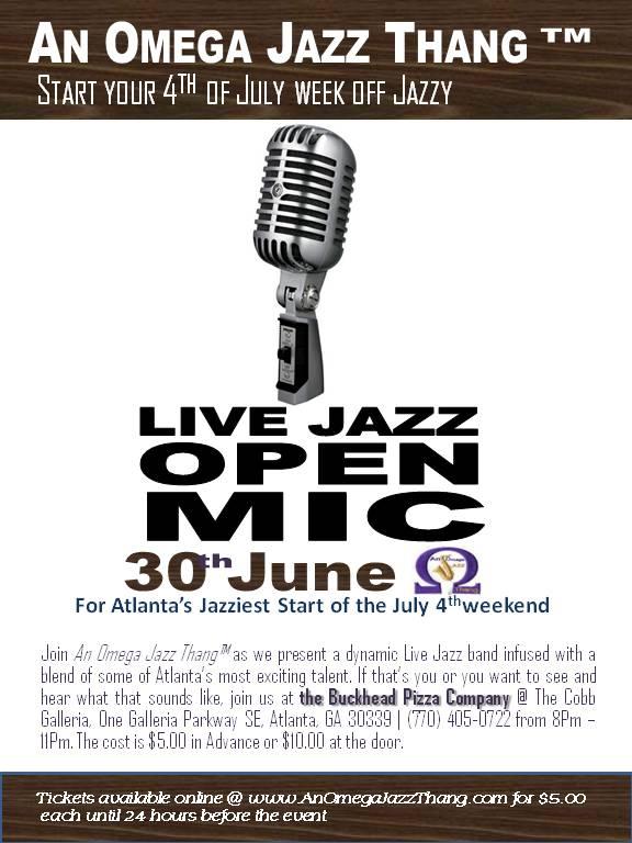 Open Mic - June 30 2013