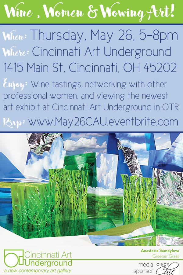 Wine , Women & Wowing Art!