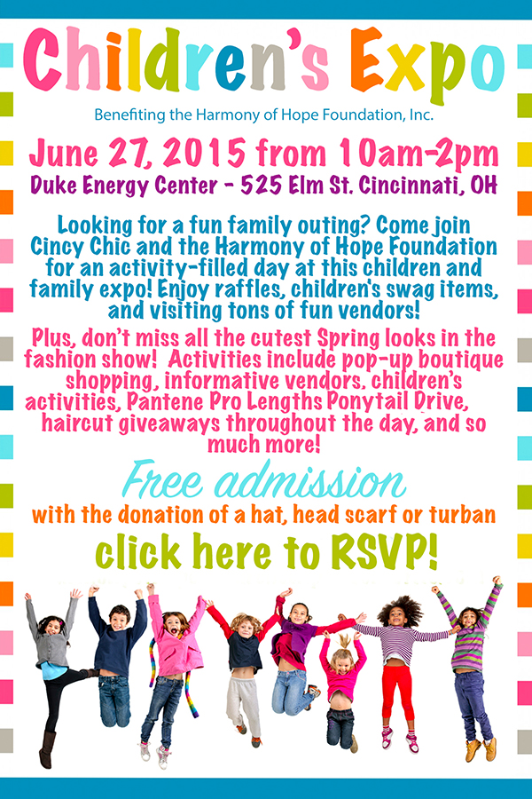 Children's Expo for the Harmony of Hope Foundation, Inc ...