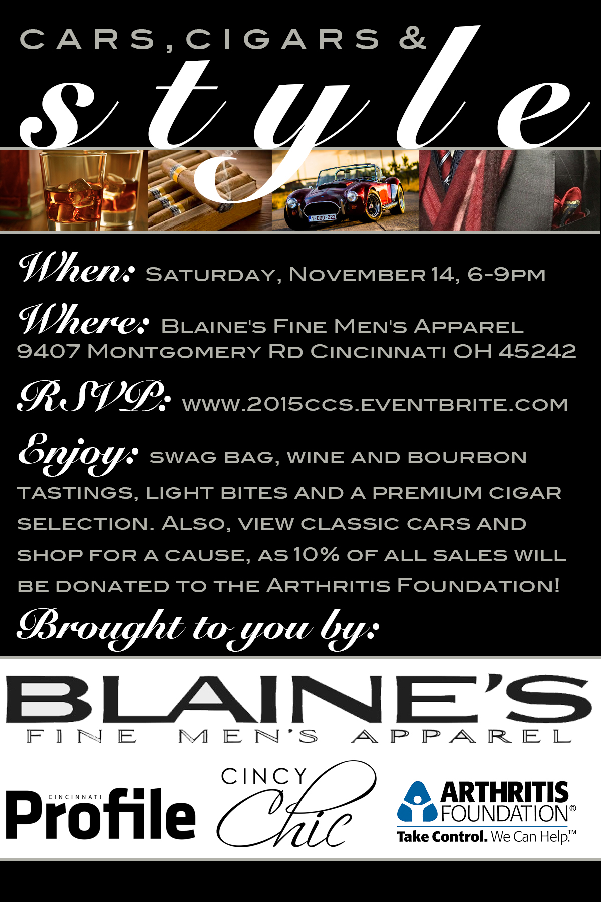 Cars, Cigars & Style Blaines