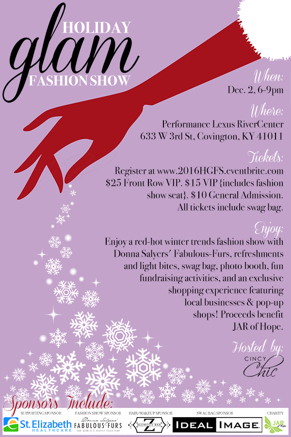 Holiday Glam Fashion Show