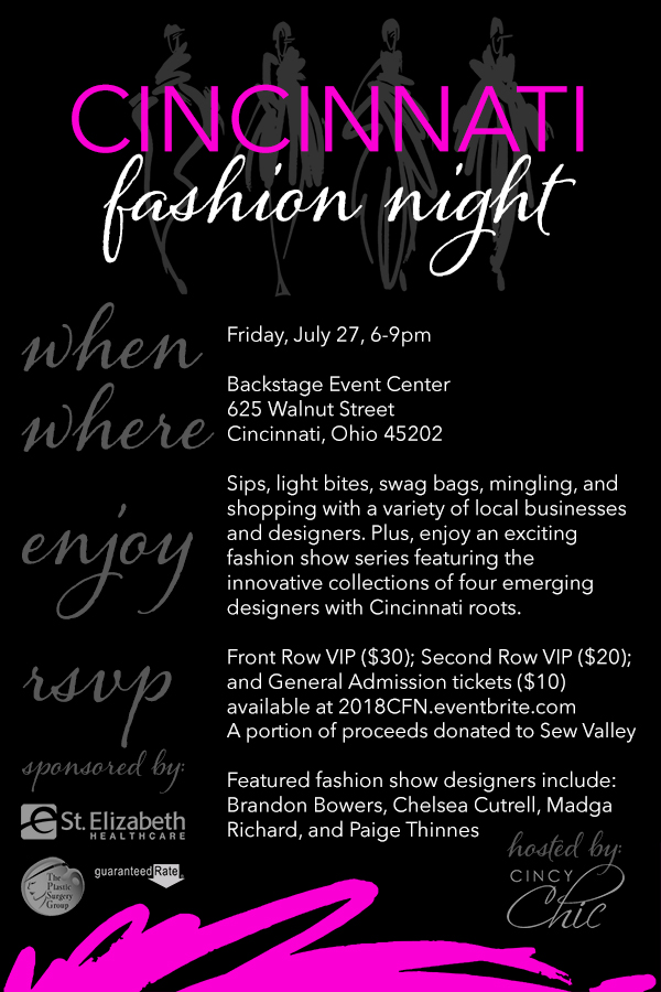 2018 cincinnati fashion Night