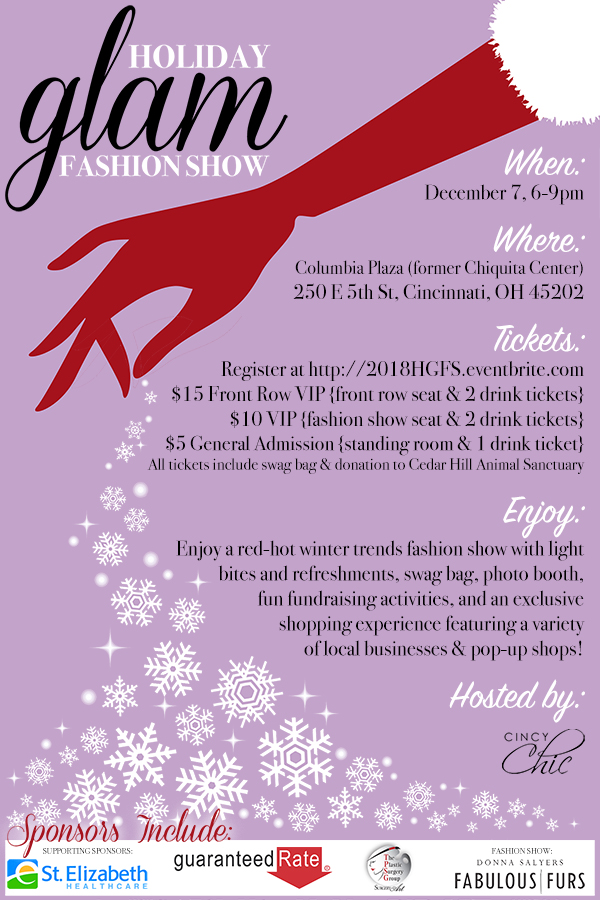 2018 Holiday Glam Fashion Show
