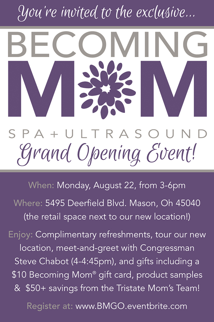 Becoming Mom® Grand Opening Event
