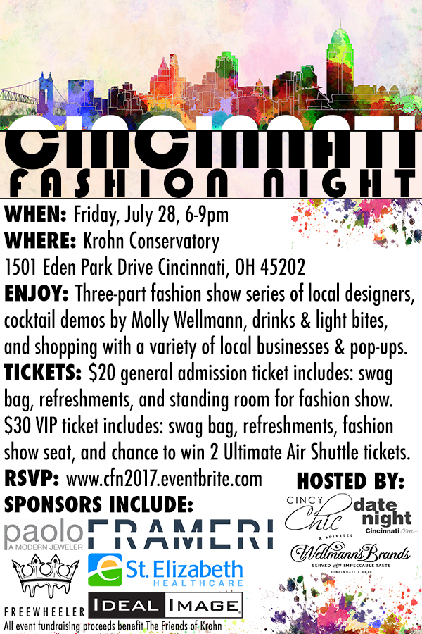 2017 Cincinnati Fashion Night