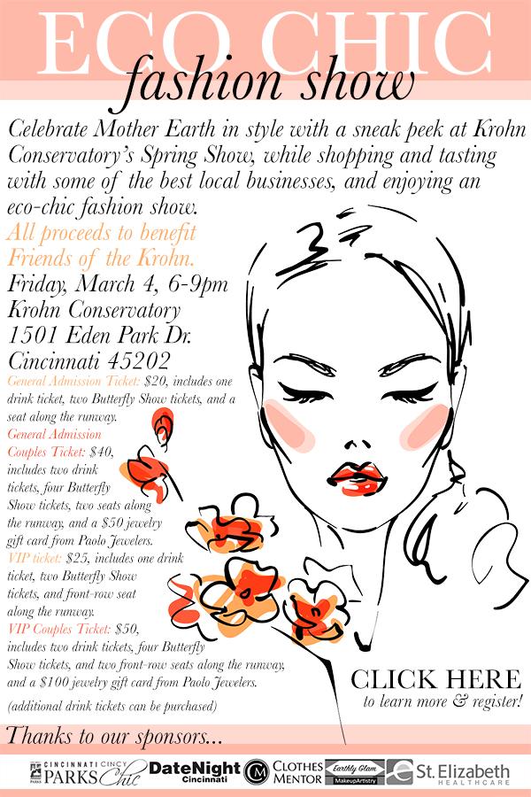 2016 Eco Chic Fashion Show Tickets Fri Mar 4 2016 At 6
