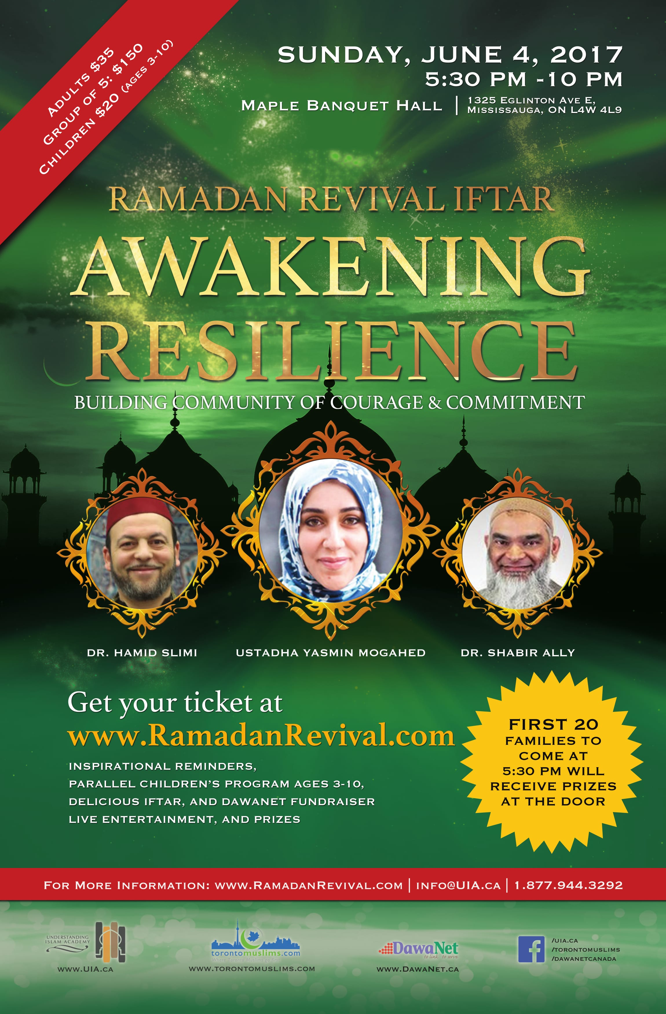Ramadan Revival 2017 flyer